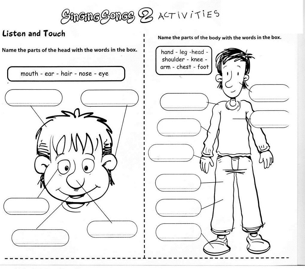 Kindergarten Free Printable Worksheets English 210370