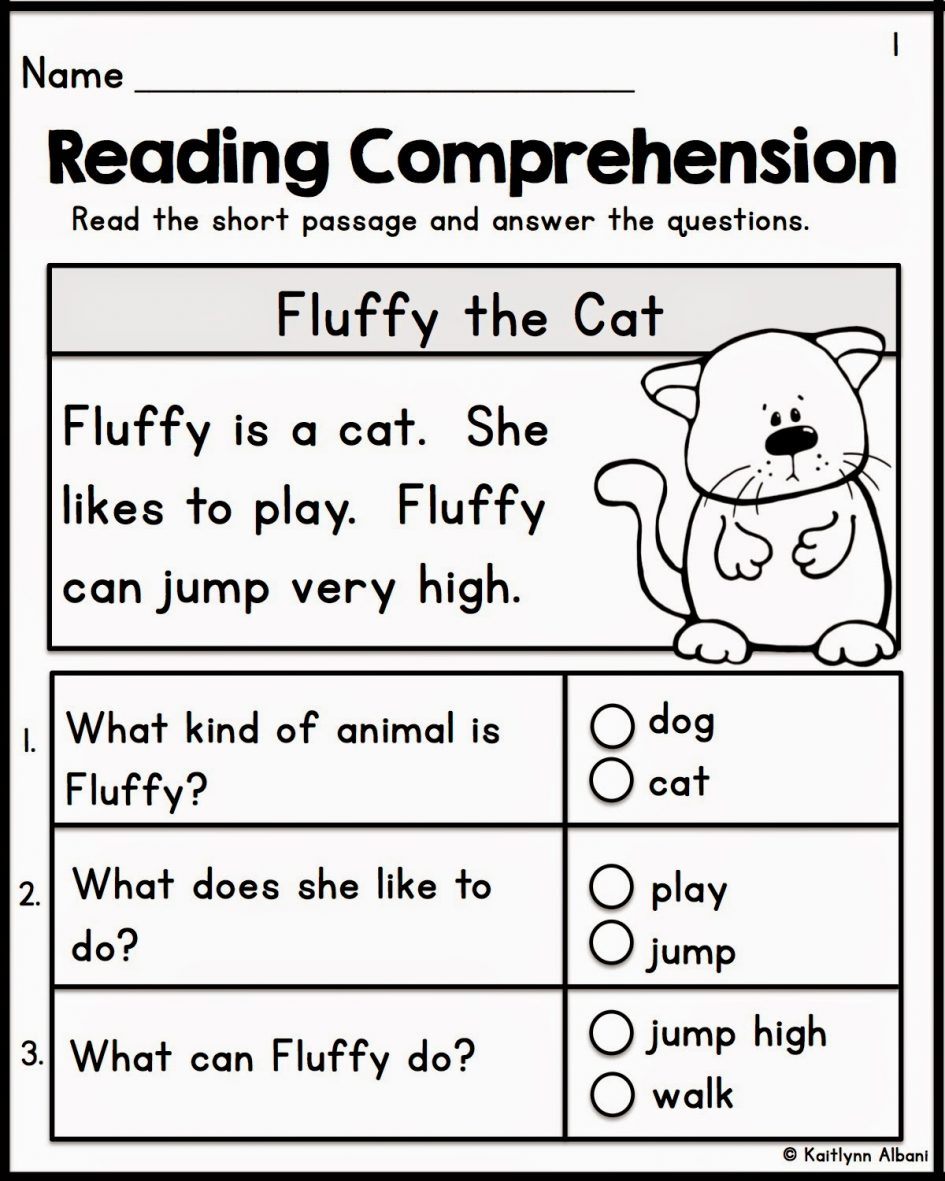 Kindergarten Literacy Worksheets Free 174239
