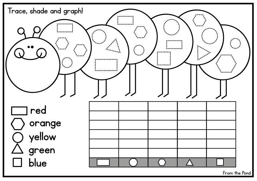 Kindergarten Math Graphing Worksheets