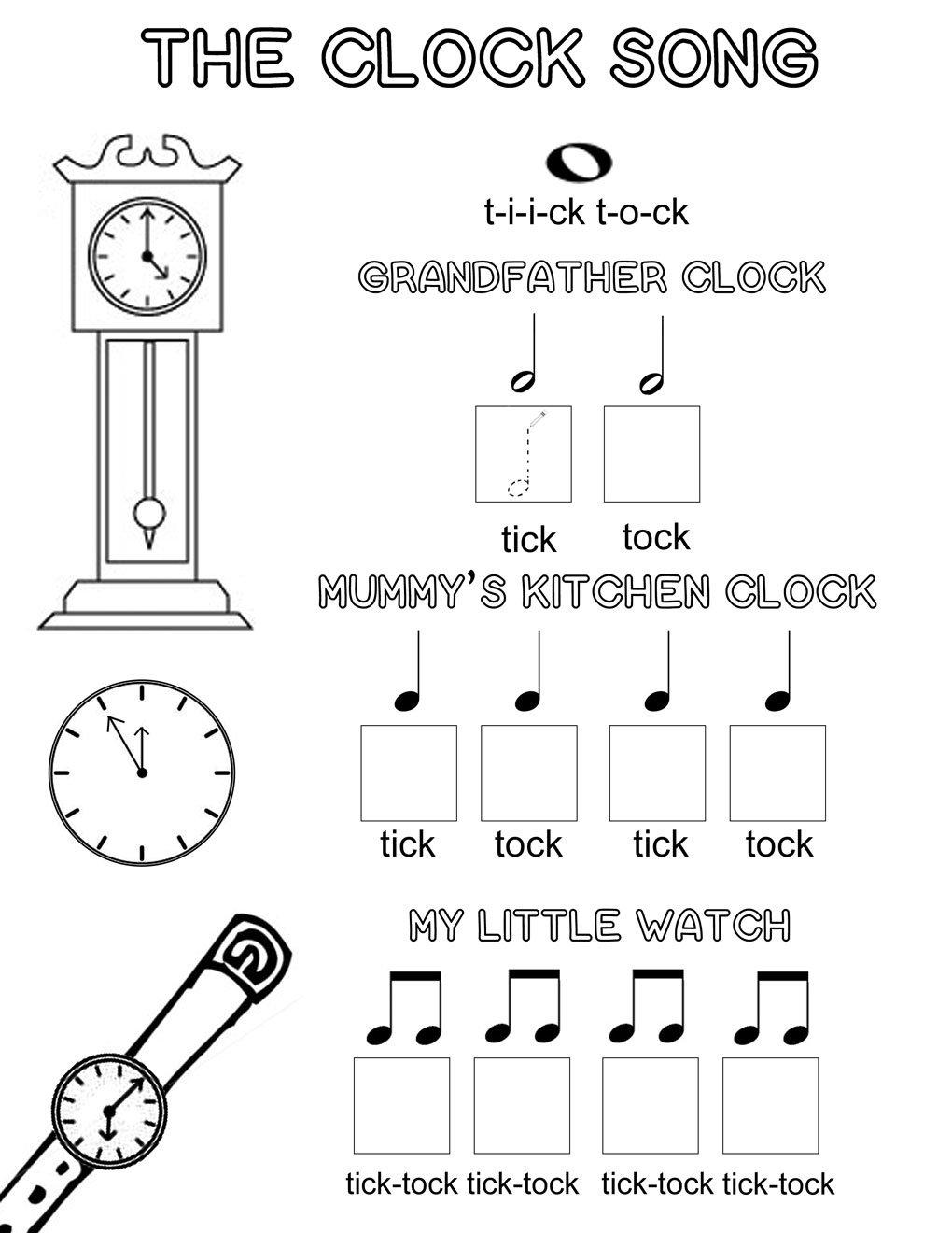 Kindergarten Music Worksheets The Best Worksheets Image Collection