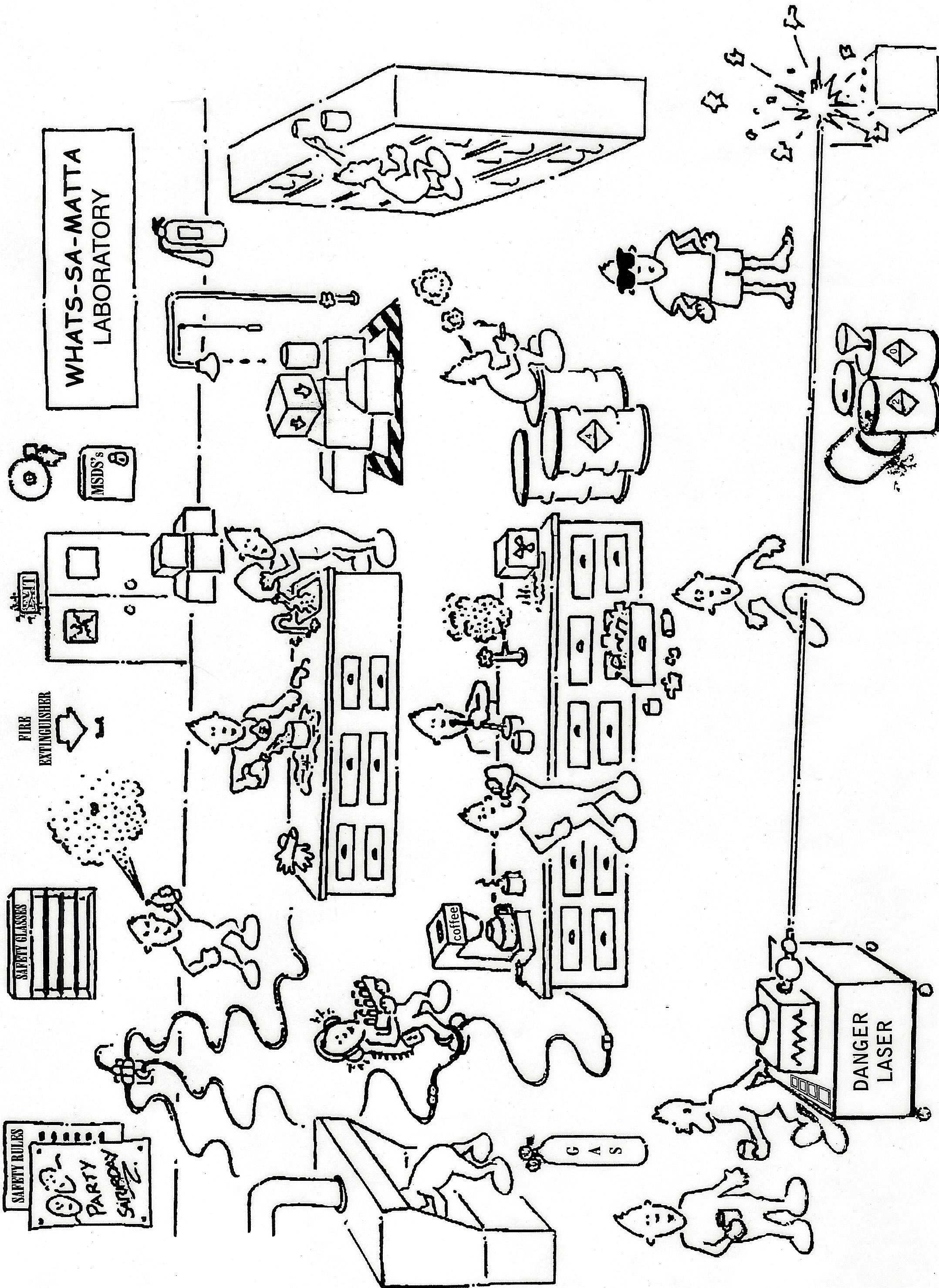 Lab Safety Worksheet Chemistry
