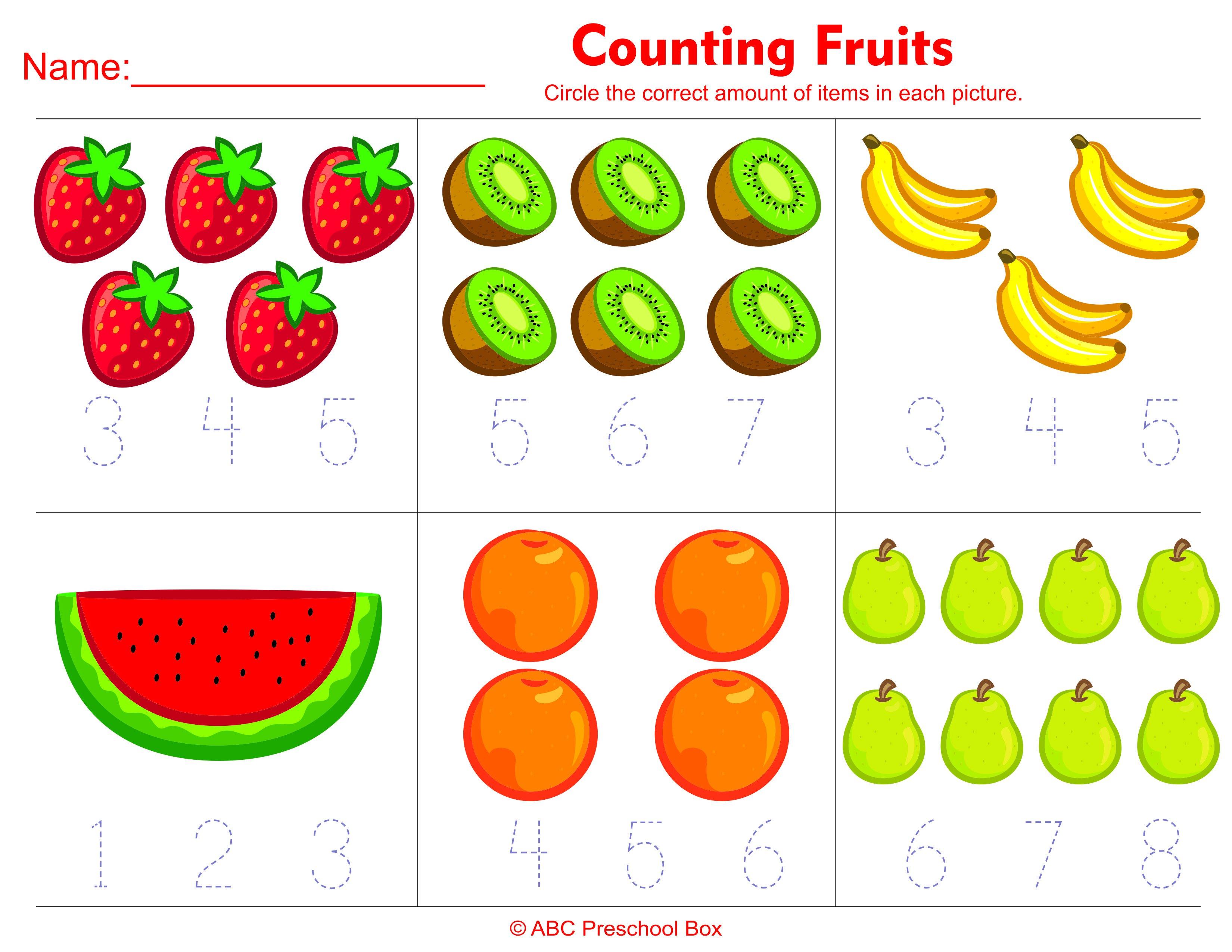 Math Worksheet For Preschool The Best Worksheets Image Collection