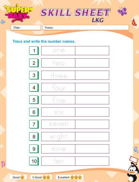 Maths Worksheets For Kg1 Elegant Lkg Worksheets Free Download