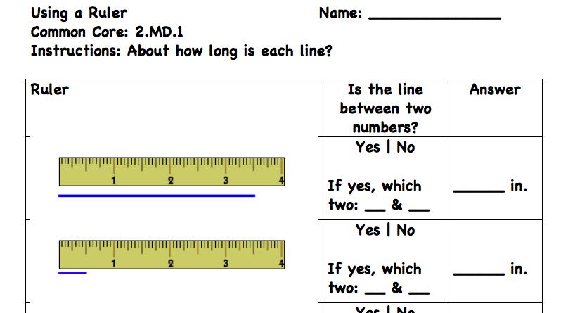 Measurement Worksheets Â«