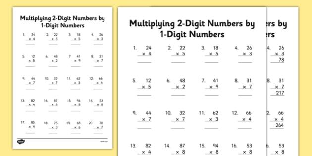 Multiplying 2