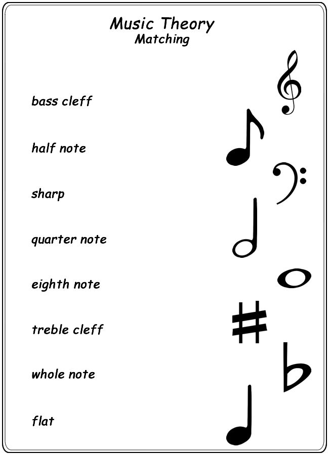 Music Terms Worksheets The Best Worksheets Image Collection