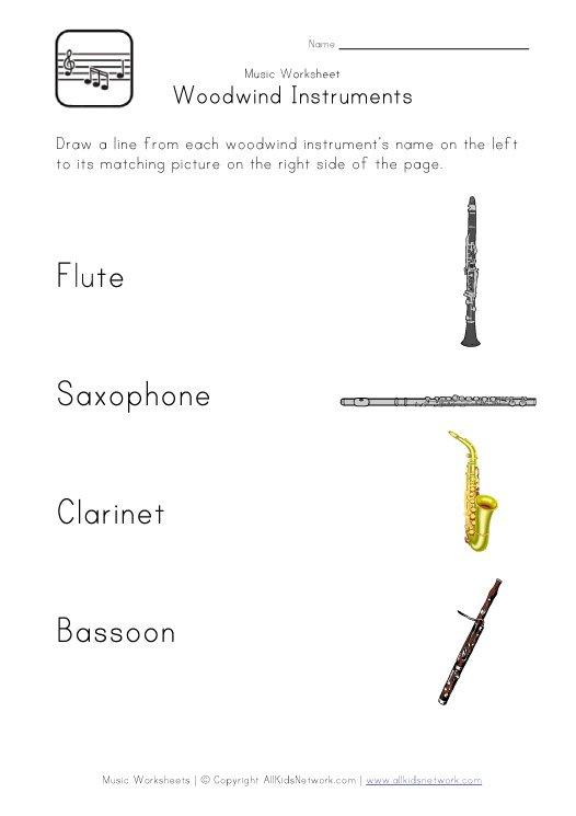 Music Worksheets