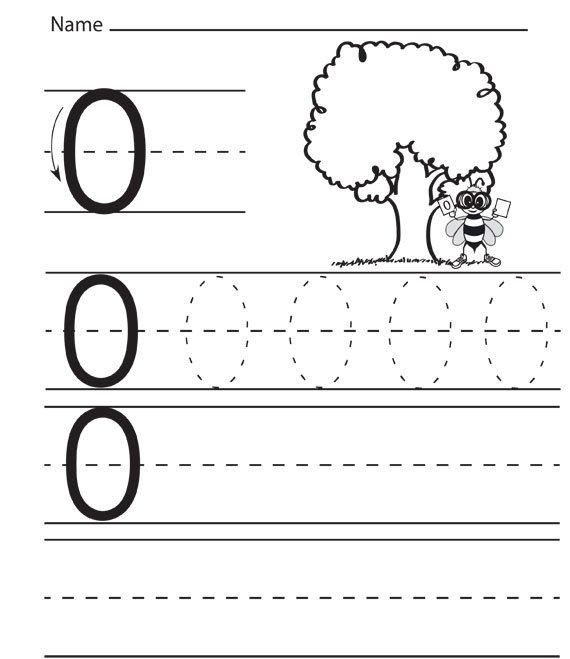 Number Zero Worksheets