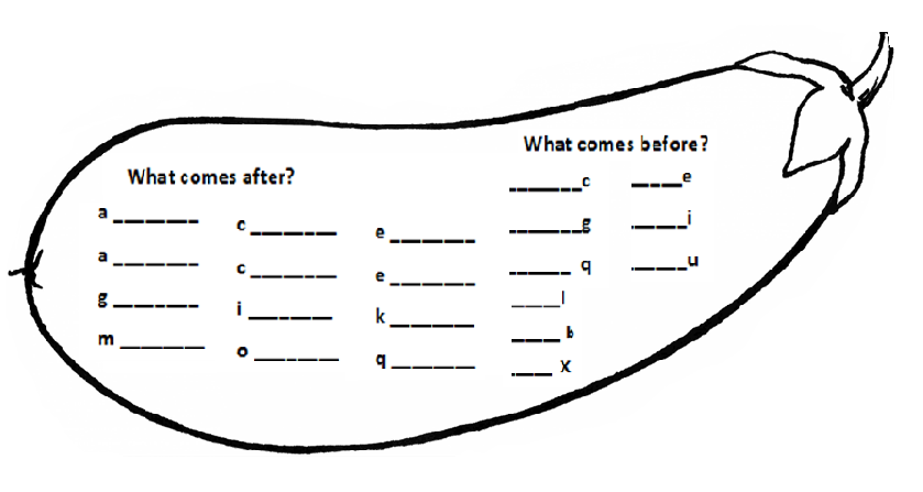 Nursery English Worksheets The Best Worksheets Image Collection