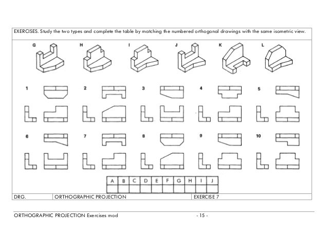 Orthographic Worksheets