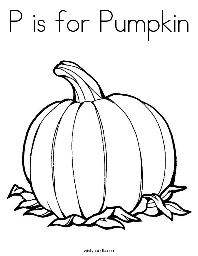 P Is For Pumpkin Worksheet The Best Worksheets Image Collection