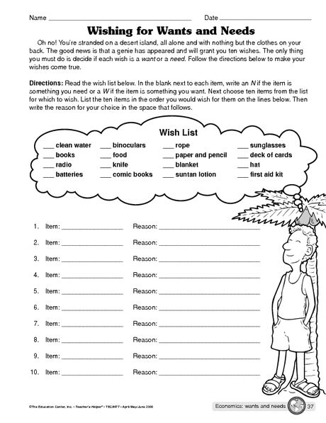 Personal Finance Worksheets For Highschool Students Great Free