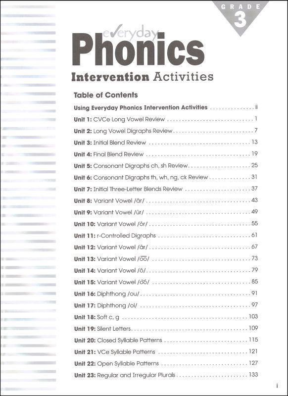 Phonics Worksheets 3rd Grade