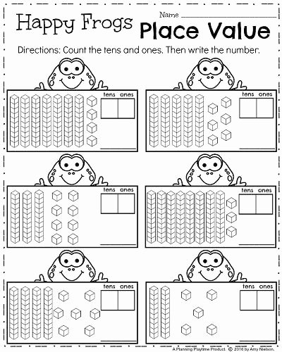 Place Value Worksheets 1st Grade Lovely Best Solutions Of Place