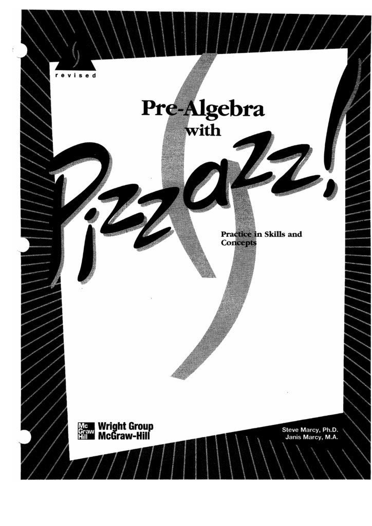 Pre Algebra With Pizzazz Worksheets With Answers The Best