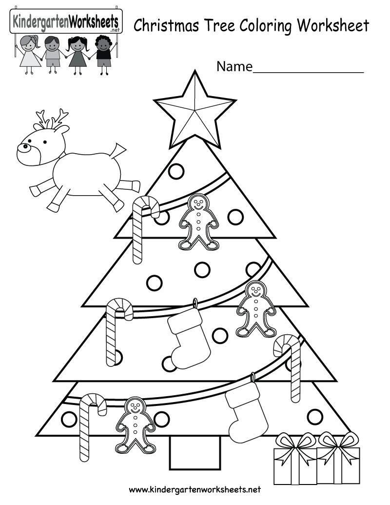 Preschool Christmas Worksheets Printables The Best Worksheets