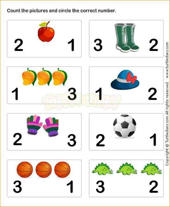 Preschool Math Worksheet The Best Worksheets Image Collection