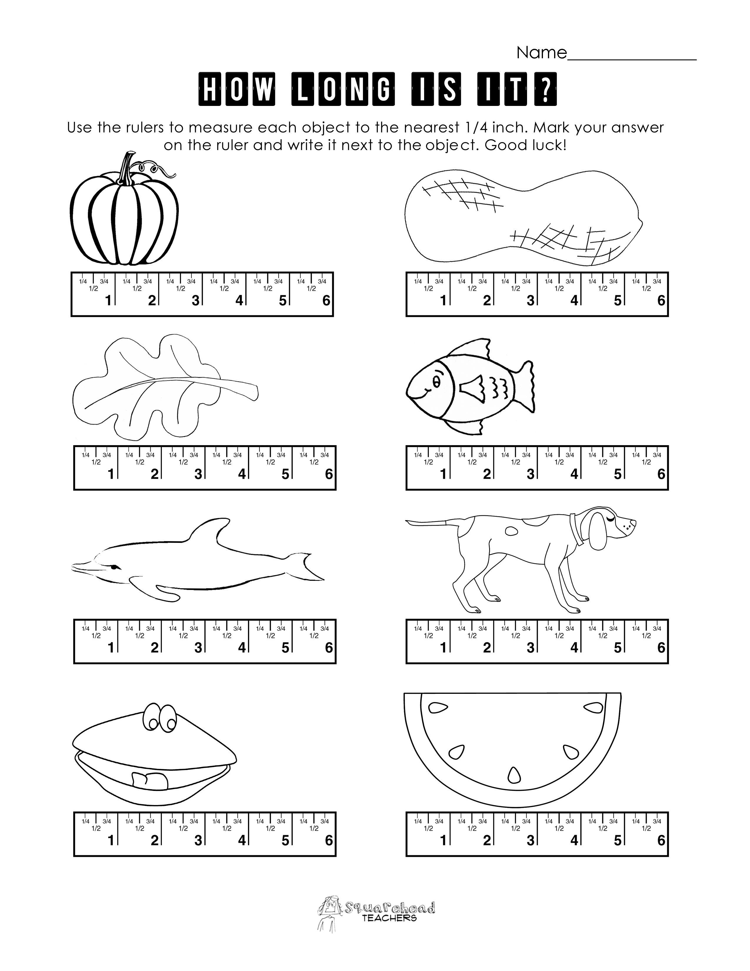 Preschool Measurement Worksheets And Printables 320311