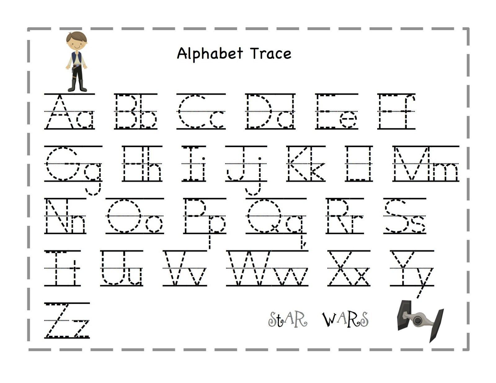 Preschool Tracing Letter Worksheets Free 91887
