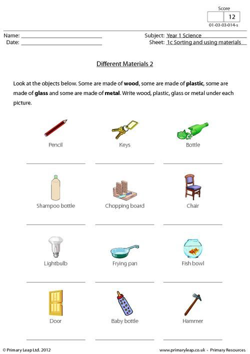 Primary Science Worksheets The Best Worksheets Image Collection