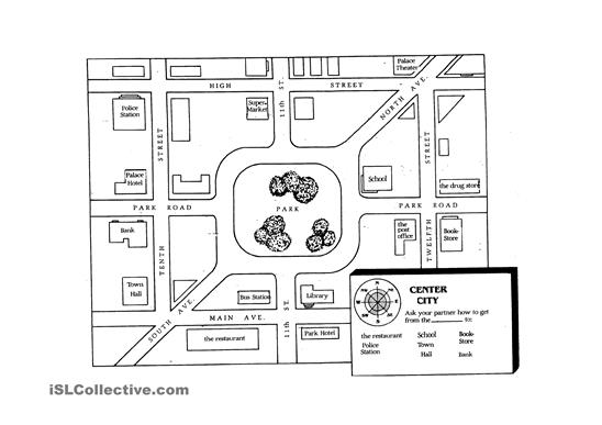 Printable Directions Map