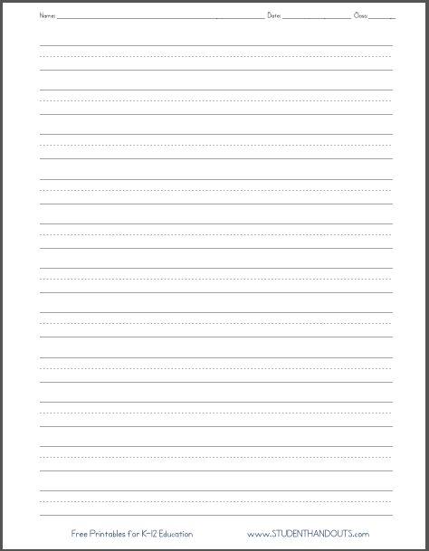 Printable Four Line Worksheet Bccae35dd9c7a52bee10f98e97787337