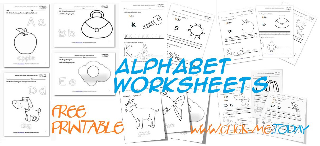 Printable Letter Worksheets Free Free Printable Alphabet
