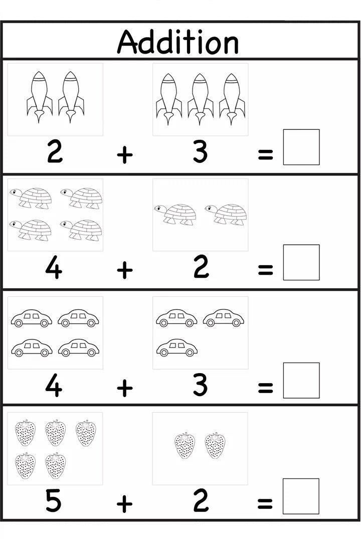 Printable Math Worksheets Preschoolers 497289
