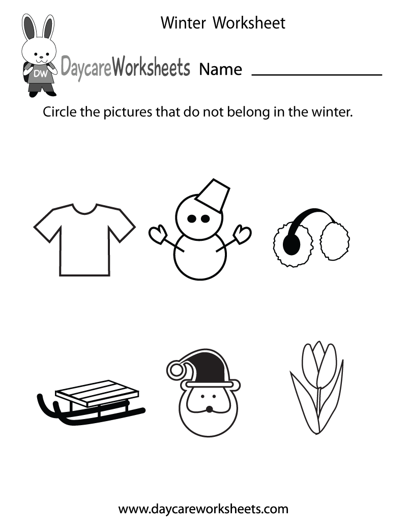 Printable Winter Worksheets The Best Worksheets Image Collection
