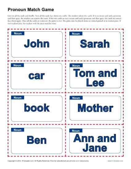 Pronouns And Antecedents Worksheets For Pronoun Agreement Pronoun