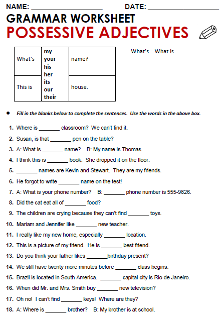 Quality Esl Grammar Worksheets, Quizzes And Games