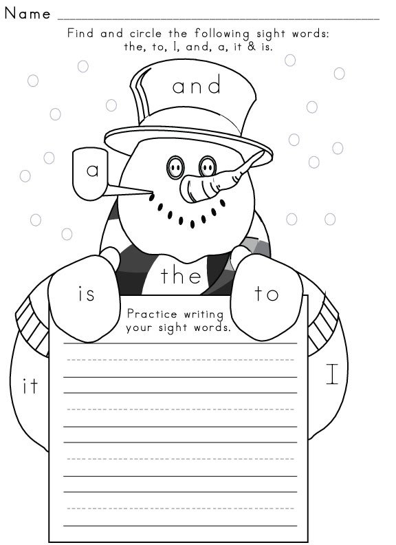 Remarkable Free Printable Winter Worksheets For First Grade For