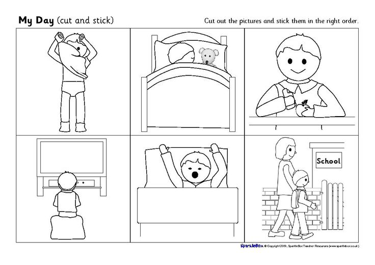 Sequence Writing Worksheets For Kindergarten