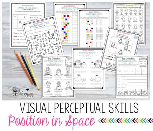 Spatial Relations Position In Space