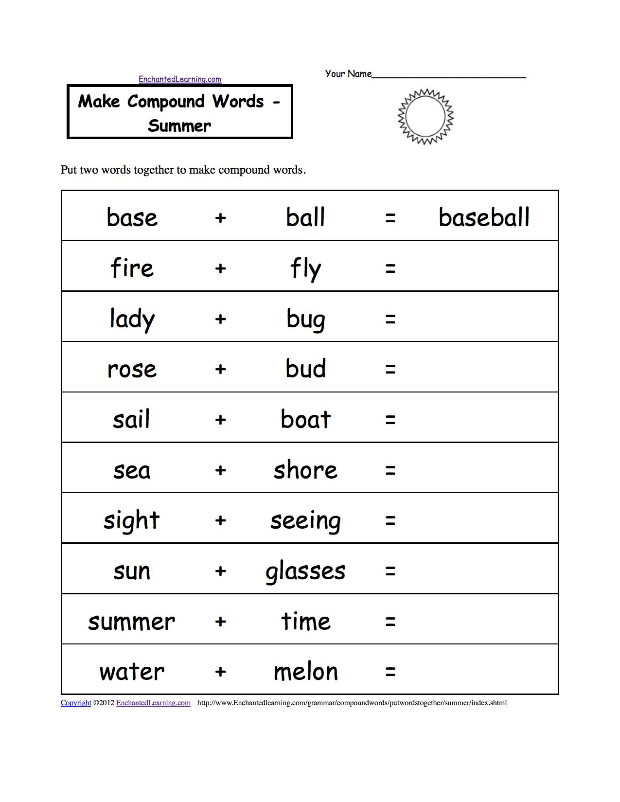 Spelling Worksheet Printables