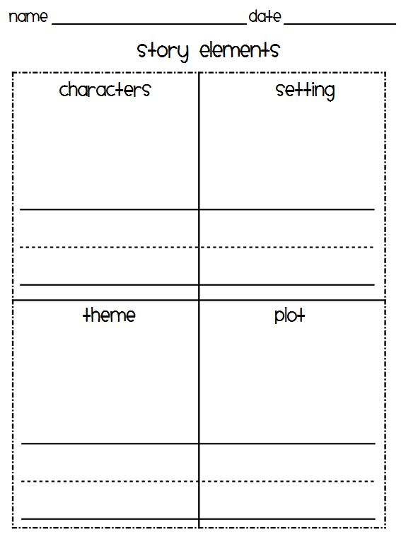 Story Elements Worksheets Story Elements Worksheets 3rd Grade