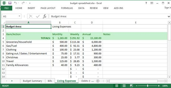 Take Back Your Finances Challenge  3  Set Your Budget (unique
