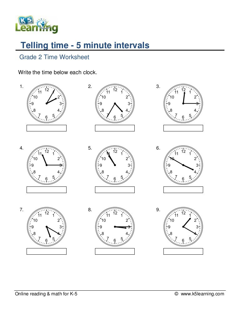 Time Worksheet Grade 4 Pdf