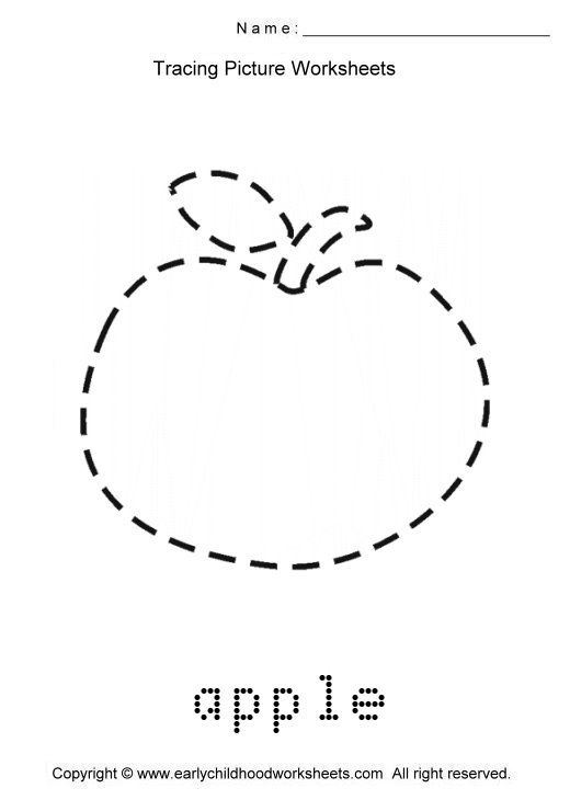 Tracing Apple Picture