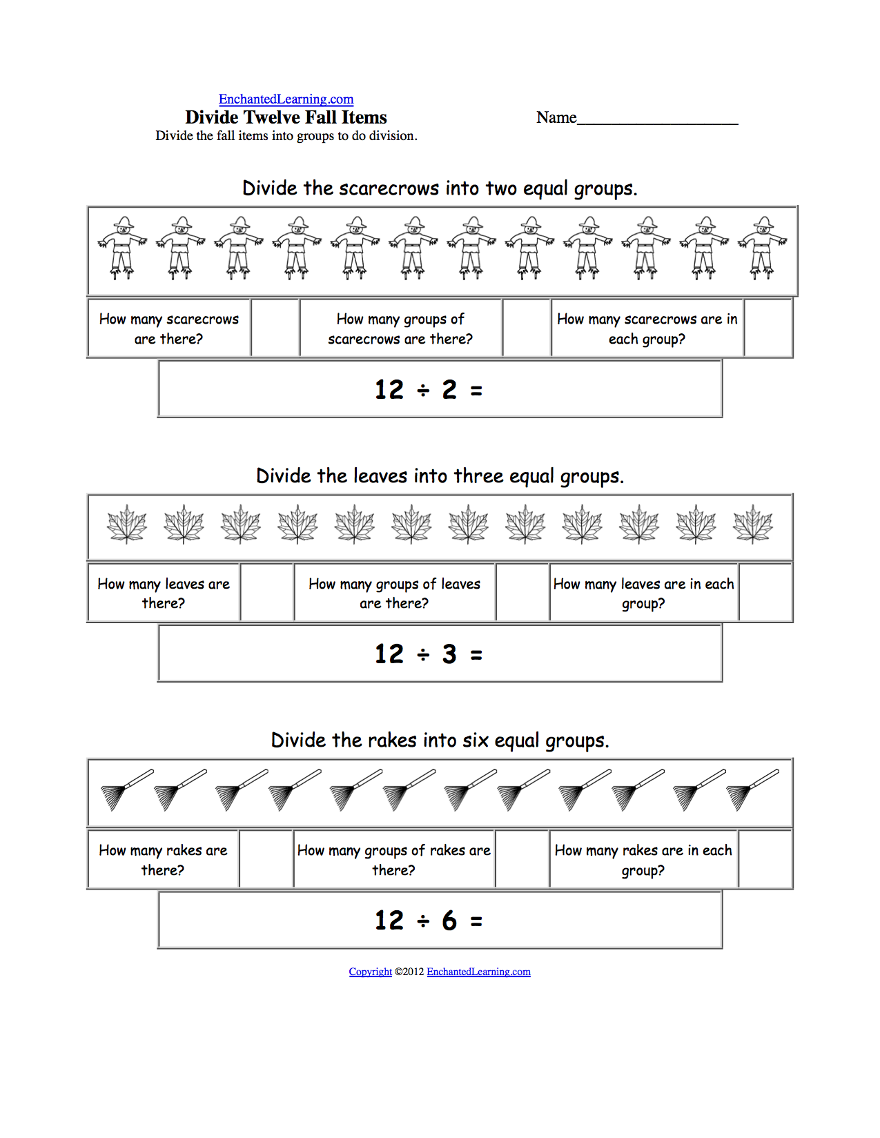 Visual Division Worksheets The Best Worksheets Image Collection
