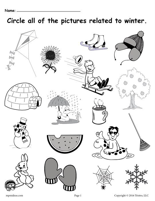 Winter Worksheets Free Printable Winter Worksheets Resultinfos