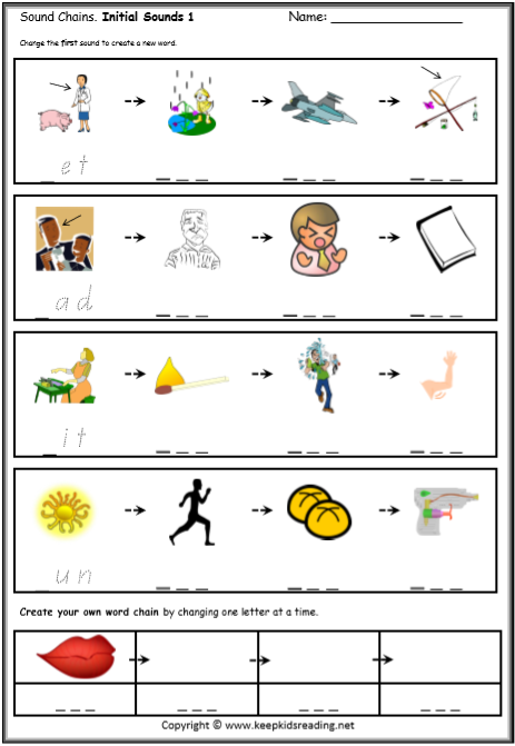 Word Chain Worksheet The Best Worksheets Image Collection