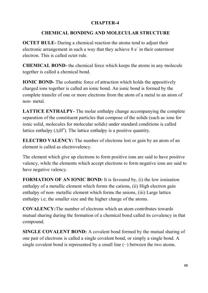 Worksheet Chemical Bonding Ionic And Covalent Fresh Ch 4 Chemical