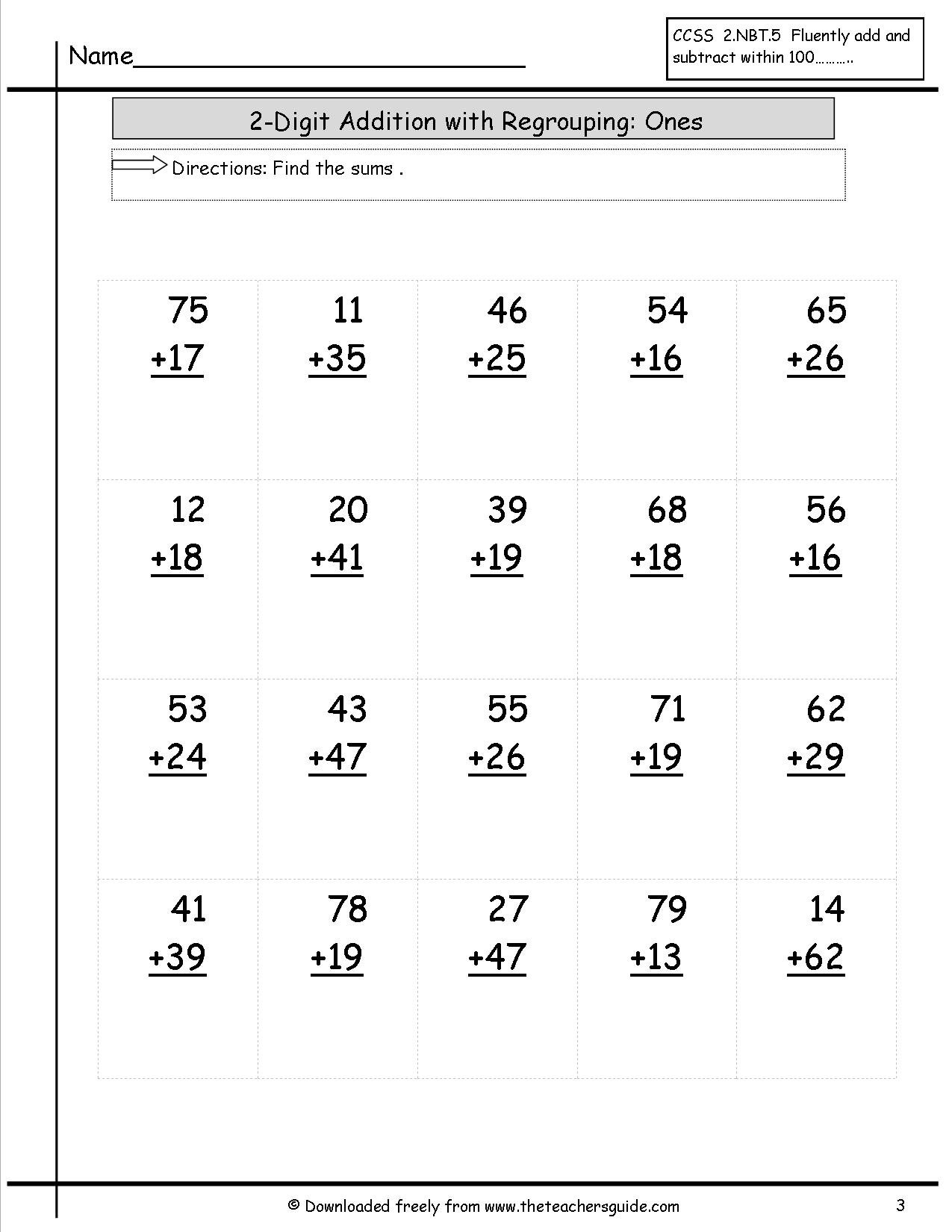 Worksheets In Addition The Best Worksheets Image Collection