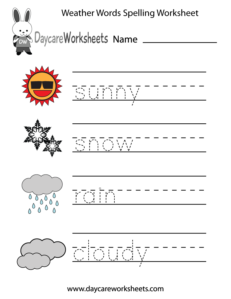 Worksheets On Weather The Best Worksheets Image Collection