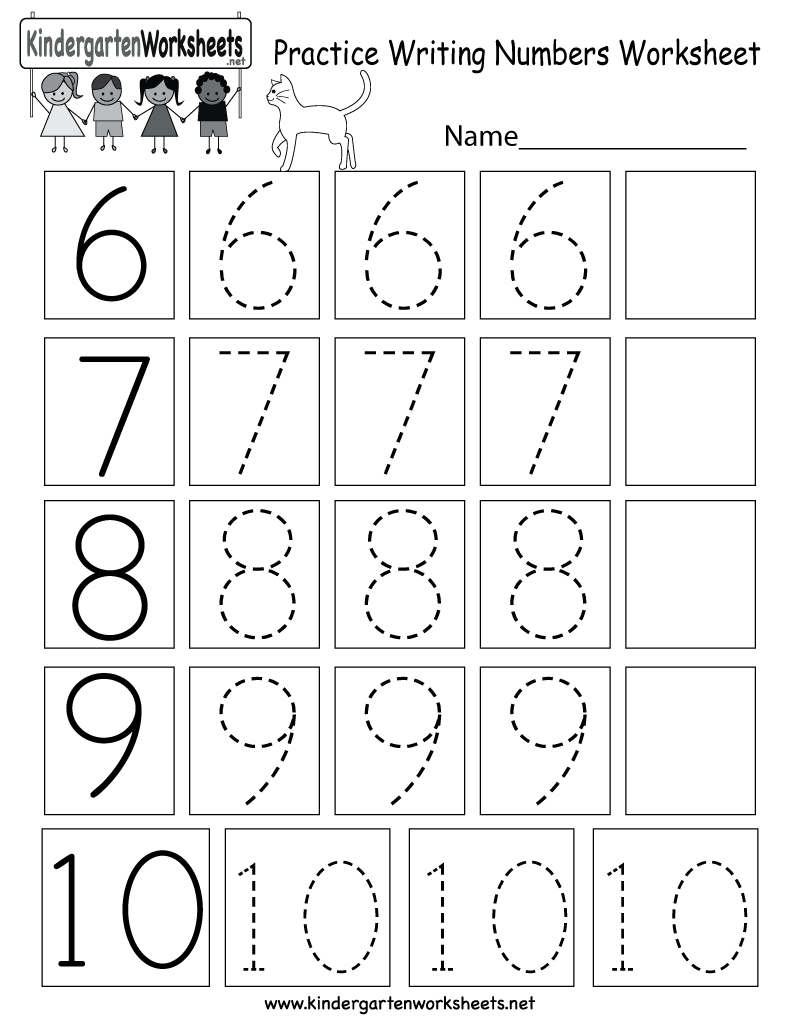 Writing Numbers Worksheets The Best Worksheets Image Collection