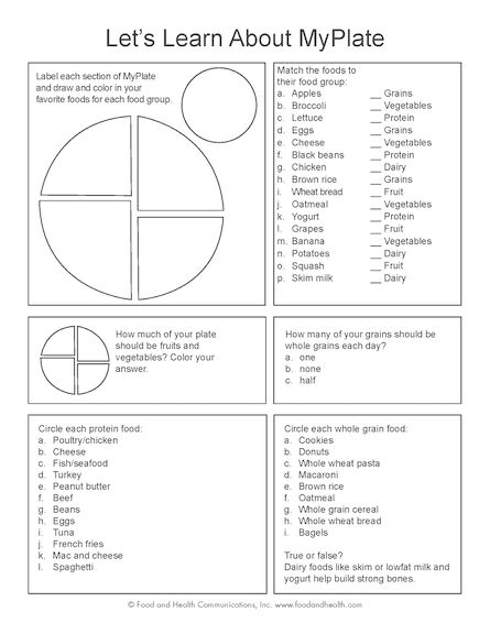 16 Best My Plate Images By Ms  D On Free Worksheets Samples