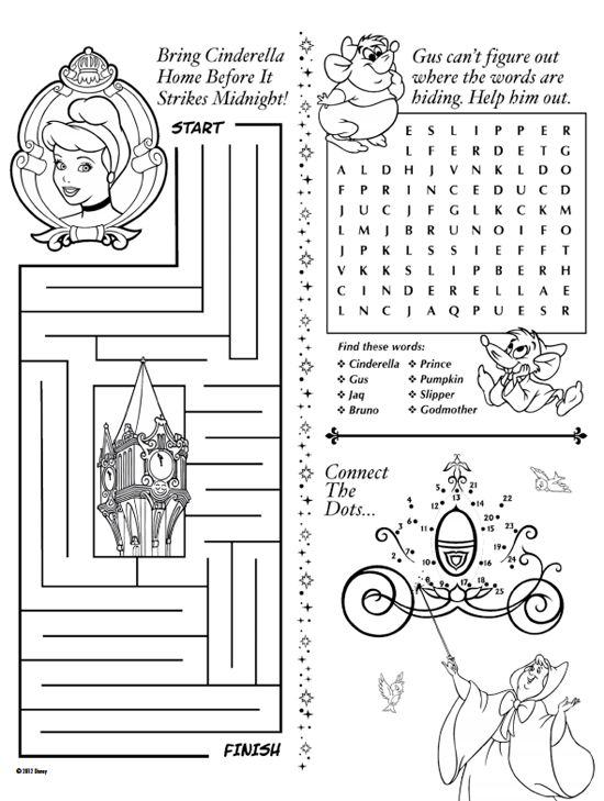 21 Best Disney Activity Pages Images On Free Worksheets Samples