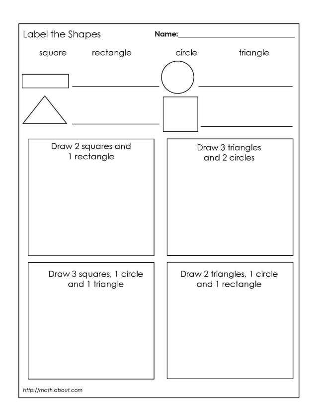 2nd Grade Math Shapes Worksheets Beautiful Free Shape Worksheets