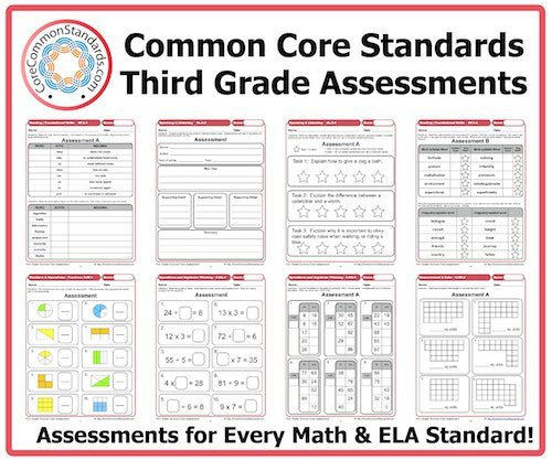 3rd Grade Common Core Math Worksheets Common Core 3 Rd Grade Math